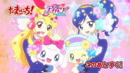 Ichigo and Aoi with Yumemitchi and Kiraritchi