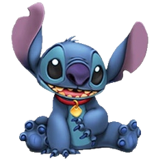 Disney Stitch transparent