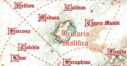 Colchis Galactic Location