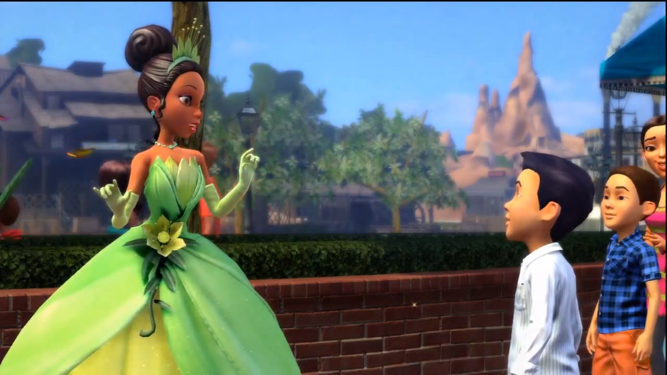 Princess Tiana at Disney World