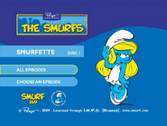 SmurfsSmurfetteCollectionDisc1menu