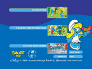 SmurfsSmurfetteCollectionDisc1menu2