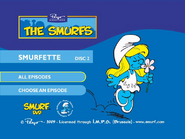 SmurfsSmurfetteCollectionDisc2menu