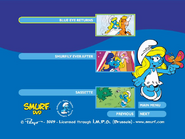 SmurfsSmurfetteCollectionDisc2menu3