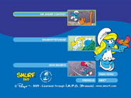 SmurfsSmurfetteCollectionDisc3menu2