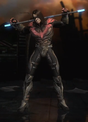 Nightwing (Damian Wayne) - Injustice:Gods Among Us Wiki