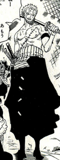 Zoro Punk Hazard
