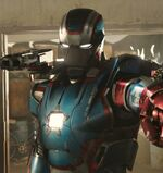 James Rhodes (Earth-199999) as Iron Patriot 001
