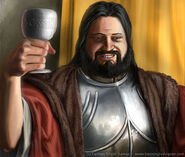 Robert Baratheon by Henning Ludvigsen, Fantasy Flight Games©
