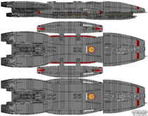 BS Acheron Galactica Type Block 1 Jupiter Class