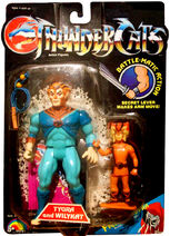 LJN Old Tygra and PVC Wilykat