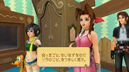 Khhd-yuffie-aerith-leon-pluto-traverse-town