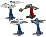 Hasbro Kre-O Star Trek Micro Build starships