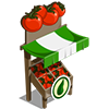 Organic Tomato Stall-icon