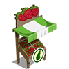 Organic Raspberry Stall-icon