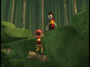 Swarming Attack Yumi helps Aelita image 1