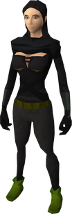 Ranger boots equipped