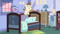 Pound Cake jumping in crib S2E13.png