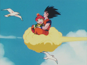 GohanAndGokuFlyingOnNimbus