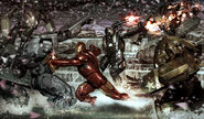 IronMan WarMachinebattle