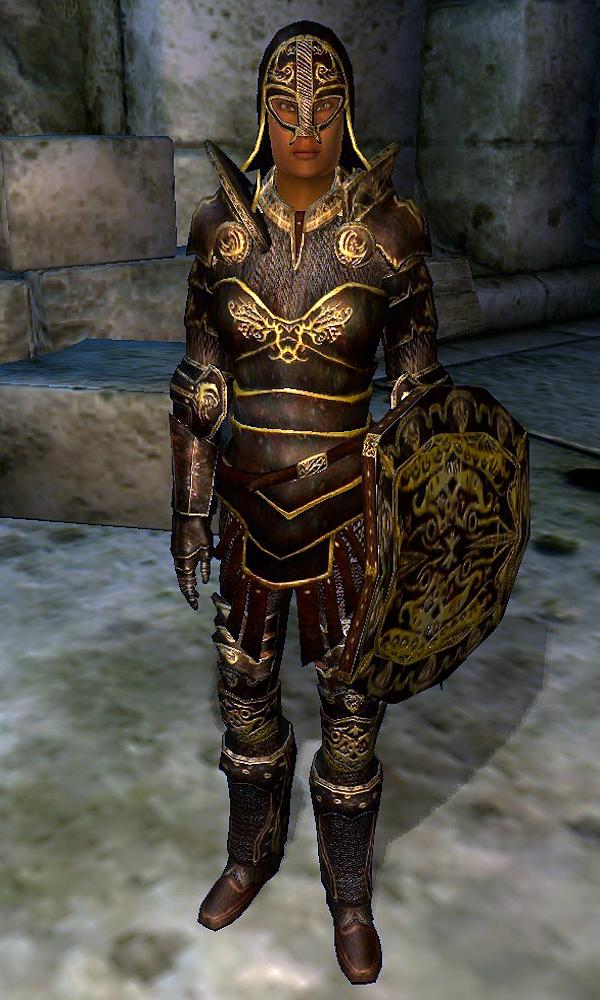 Oblivion Ebony Armor Location 11