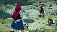 Cobra vs. Erza&#39;s Group