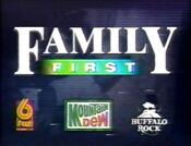 WBRC-TV FOX 6 Family First promo 1996