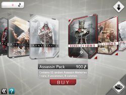 Assassin's Creed Recollection Memmory Store