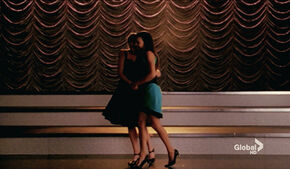 Cuddling - brittana