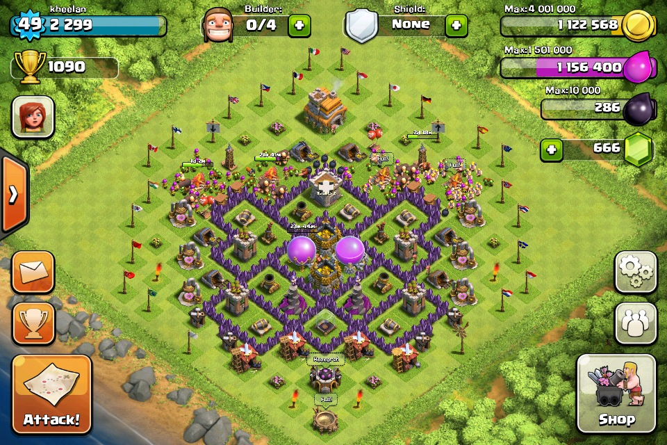 Defense layouts clash of clans handbook