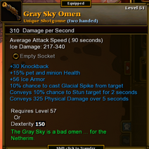 Gray Sky Omen