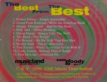 The best from the best DPRO 7-0876-10815-2-7 EMI WIKIPEDIA PROMO CD USA ROBERT PALMER DURAN DURAN 2