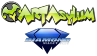Art Asylum Diamond Select Toys logo