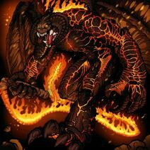 How-to-draw-balrog,-lord-of-the-rings,-balrog-tutorial-drawing