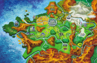 Mapa Kalos