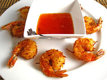 Coconut Shrimp Circular 500