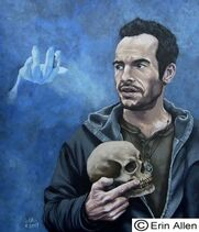 Bob the skull &amp; Harry Dresden