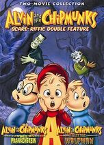 Scare-Riffic Double Feature Original Cover DVD