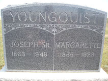 Joseph H. Youngquist I (1863-1946) tombstone