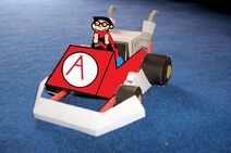 Adam kart in phineas kart ds