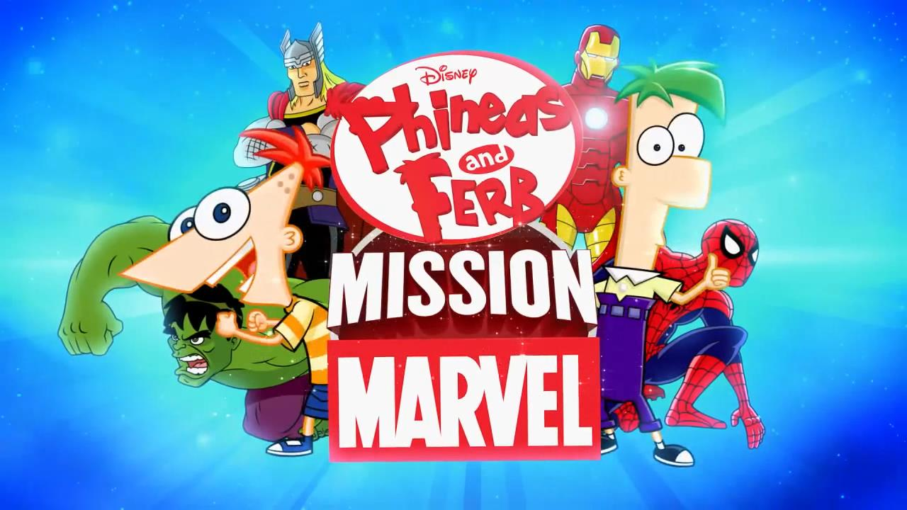 Sứ Mệnh Diệu Kỳ Của Phinies Và Ferb - Phinies And Ferb Mission Marvel poster