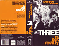 Three to get ready video wikipedia duran duran VHS · BMG VIDEO · GERMANY · 790 467 duran duran