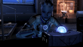 Liara programming the glyph capsule.png