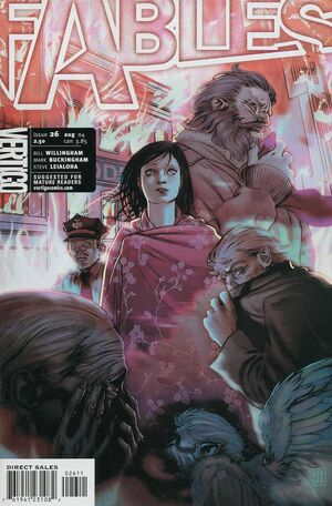 Cover for Fables #26