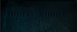 Thomas Riddle grave