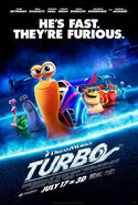Turbo (film) poster