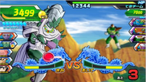 Nicky vs Dore Dragon Ball Heroes