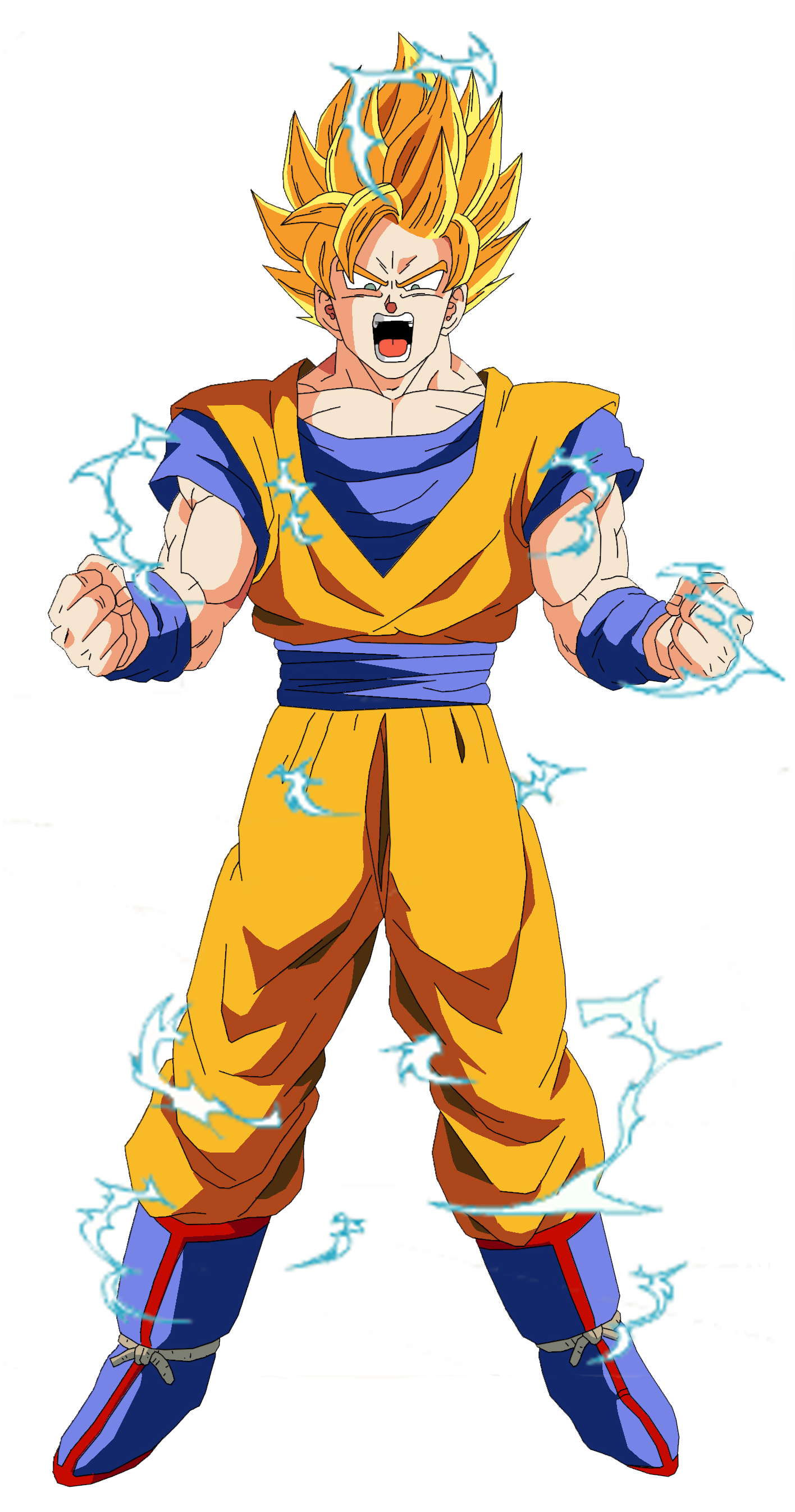 Son goku dios dragon dragon ball fanon wiki - Dragon ball z goku son ...