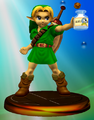 Young Link Adventure Trophy (Super Smash Bros. Melee).PNG