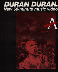 Arena advert wikipedia video duran duran album 2